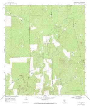 Mills Bennett USGS topographic map 27098f7