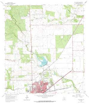 Alice North USGS topographic map 27098g1