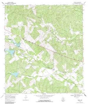 Rosita USGS topographic map 27098g4