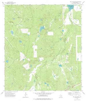 Biel Lake South USGS topographic map 27098g8