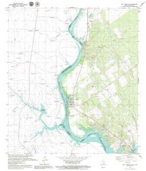San Ygnacio USGS topographic map 27099a4
