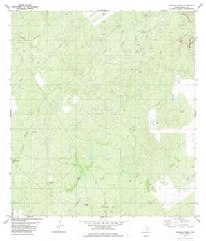 Chargos Creek USGS topographic map 27099b1
