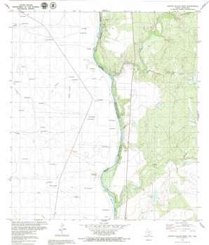Arroyo Salado West topo map
