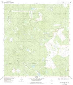 Agua Azul Creek West USGS topographic map 27099c2