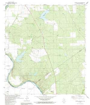 O'Keefe Lake USGS topographic map 27099c4