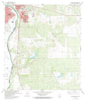 Laredo South USGS topographic map 27099d4