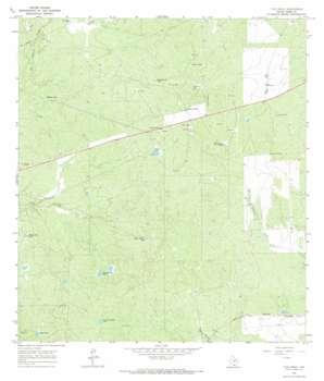 Tios Creek USGS topographic map 27099e3