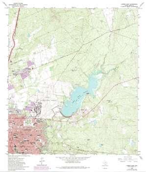 Laredo East USGS topographic map 27099e4