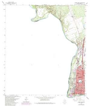 Laredo West USGS topographic map 27099e5