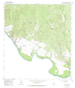 Dolores Ranch topo map