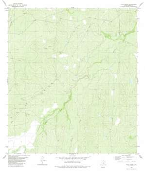 Pato Creek topo map
