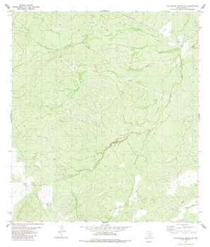 Callaghan Ranch Se topo map