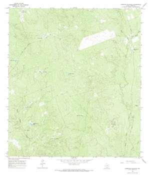 Cerritos Blancos topo map