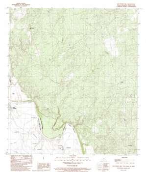 San Pedro Hill USGS topographic map 27099g7