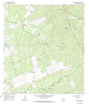 Spohn Ranch USGS topographic map 27099h5