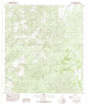 Pinto Creek USGS topographic map 27099h7