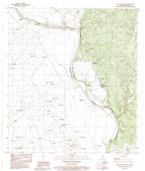 Big Apache Hill USGS topographic map 27099h8