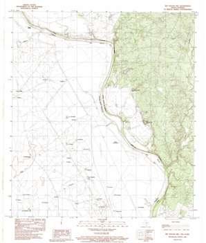 Big Apache Hill topo map