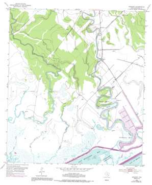 Sargent topo map