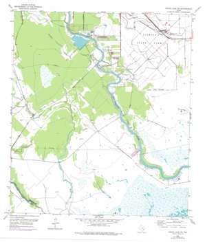 Cedar Lane Ne USGS topographic map 28095h5