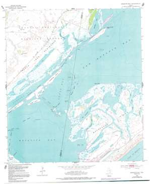 Mesquite Bay USGS topographic map 28096b7