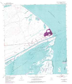Port O'Connor USGS topographic map 28096d4