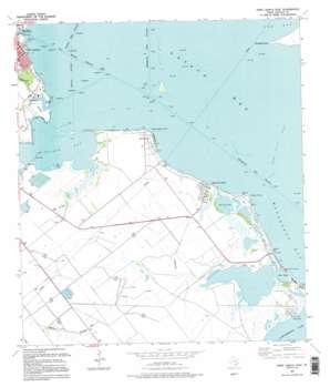 Port Lavaca East USGS topographic map 28096e5