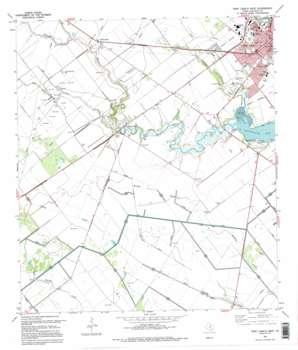Port Lavaca West USGS topographic map 28096e6