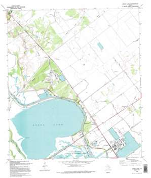 Green Lake USGS topographic map 28096e7