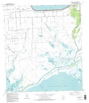 Palacios Ne USGS topographic map 28096f1