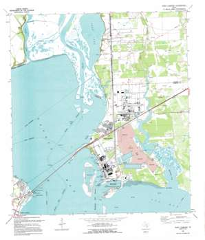 Point Comfort USGS topographic map 28096f5