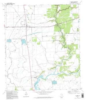 La Ward USGS topographic map 28096g4