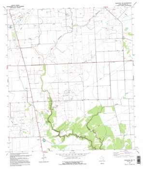 Francitas Nw USGS topographic map 28096h4