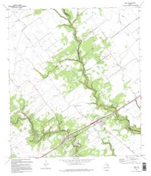 Inez USGS topographic map 28096h7