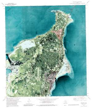 Rockport USGS topographic map 28097a1