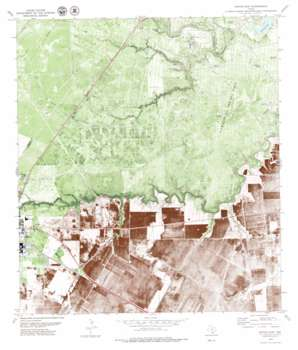 Sinton East USGS topographic map 28097a4