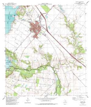 Mathis USGS topographic map 28097a7