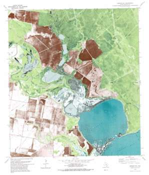 Mission Bay USGS topographic map 28097b2