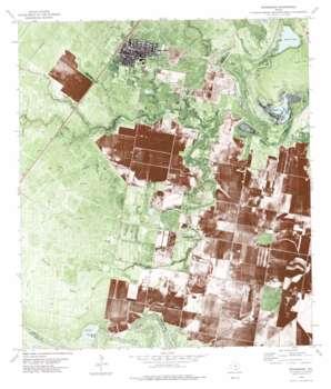 Woodsboro USGS topographic map 28097b3