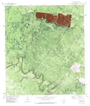 Cranell USGS topographic map 28097b4