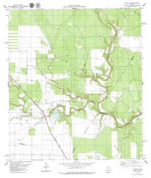 Papalote USGS topographic map 28097b5