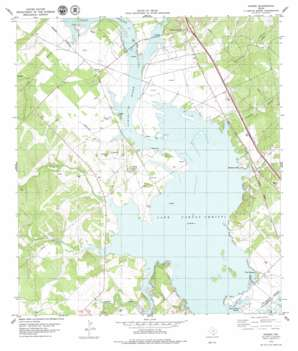 Dinero USGS topographic map 28097b8