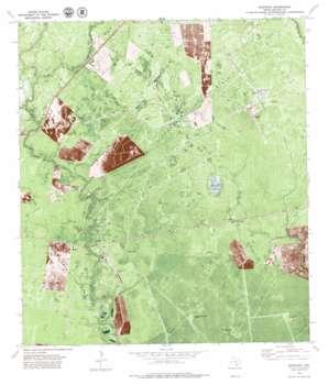 Quintana USGS topographic map 28097c2