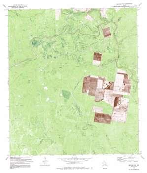 Refugio Sw USGS topographic map 28097c4