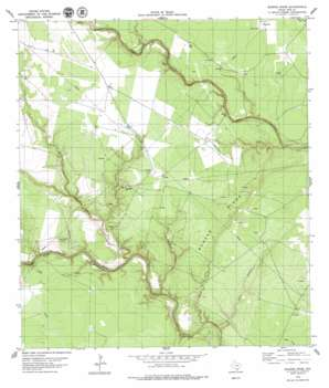 Burkes Ridge USGS topographic map 28097c5
