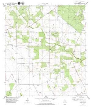 Clareville USGS topographic map 28097c7