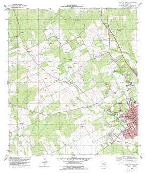 Beeville West USGS topographic map 28097d7