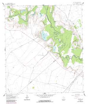 Lott Lake USGS topographic map 28097e2