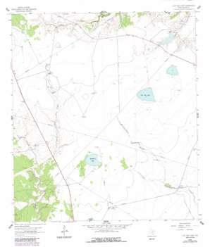 Live Oak Lake USGS topographic map 28097e3