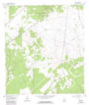 Melo USGS topographic map 28097e4